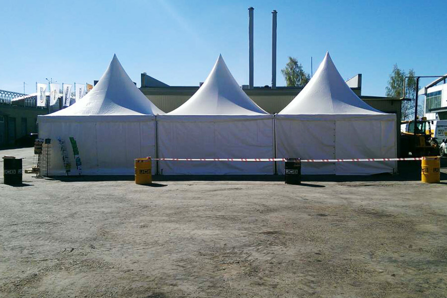 Прокат шатров
