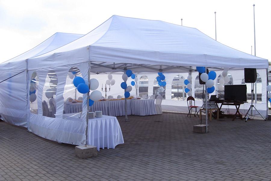 Прокат шатров для презентаций