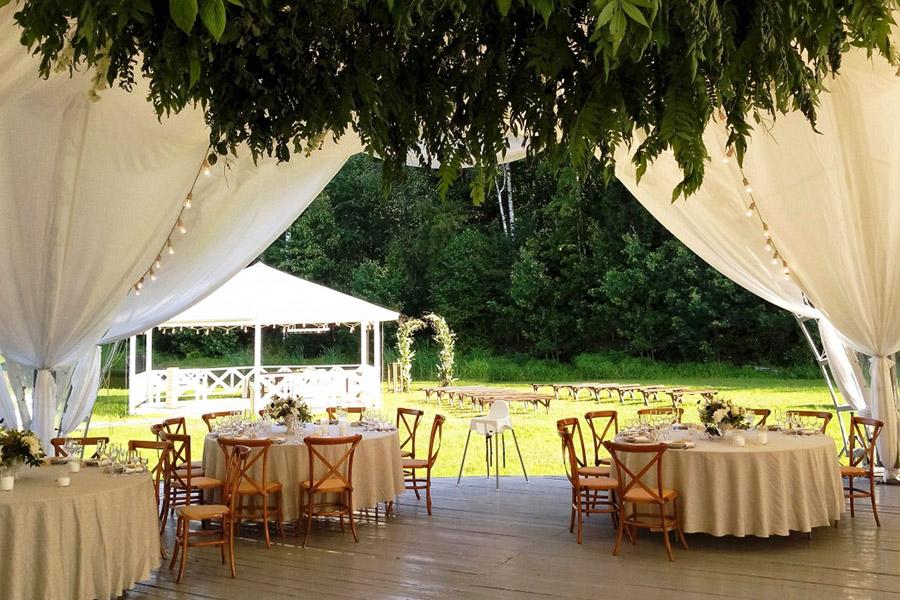 Прокат свадебного шатра