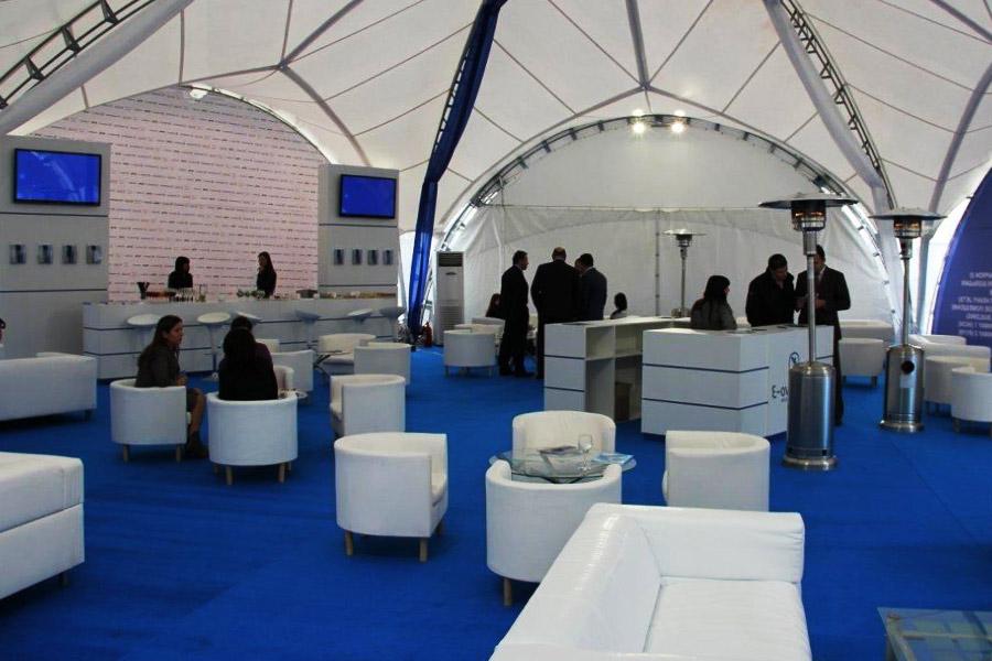 Аренда шатров для выставки под открытым небом